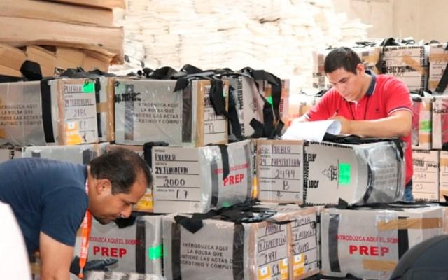 Recuento de votos en Puebla podría tardar cinco días - Foto de Notimex
