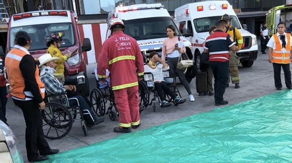 #Video Turbulencia en vuelo de Volaris deja varios heridos - Foto de Televisa Tijuana
