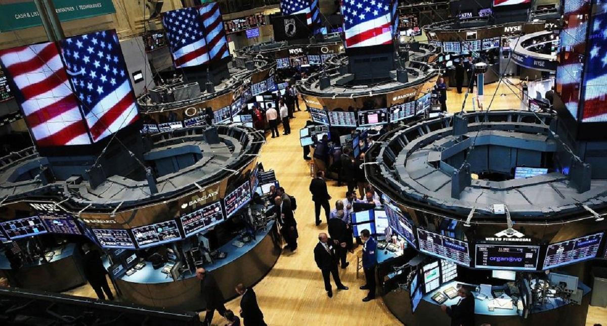 Interior de la bolsa de Wall Street. Foto de Internet