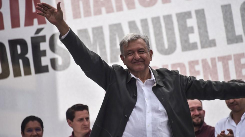 México no será candil de la calle y oscuridad de la casa: López Obrador - López Obrador afirmó que tiene una buena relación con Donald Trump basada en el respeto mutuo. Foto de AFP