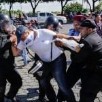 Mersosur condena represión del gobierno de Daniel Ortega en Nicaragua - Represión en Nicaragua. Foto de AFP