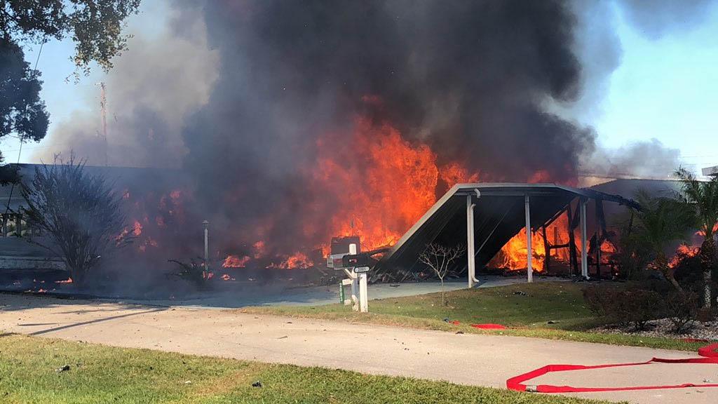 Desplome de helicóptero deja dos muertos en Florida