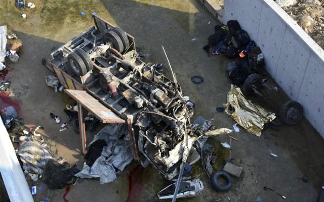 Accidente de tránsito en Turquía deja 22 migrantes muertos - migrantes muertos accidente de autobus en turquía