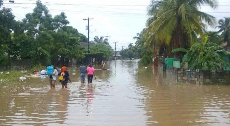 Declaran alerta roja en honduras por fuertes lluvias - Las fuertes lluvias han provocado derrumbes e inundaciones en tres departamentos del país. Foto de Internet