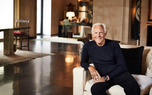 Armani no está en venta: Giorgio - Foto de Financial Times