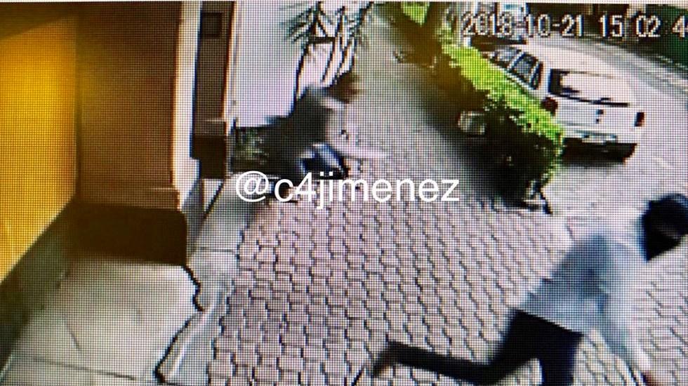 Prisión preventiva a presunto agresor de la casa de Norberto Rivera - Foto de @C4jimenez