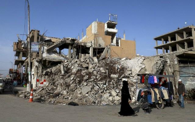 Matan a 35 militantes del Estado Islámico durante bombardeo en Siria - Fuerzas aliadas buscan tomar el último reducto del estado islámico al este del eufrates