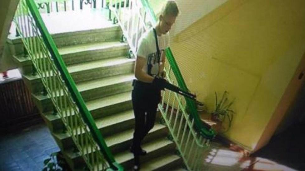#Video Así fue la matanza en secundaria de Crimea - Autor de matanza en secundaria de Kerch, Crimea. Foto de Internet