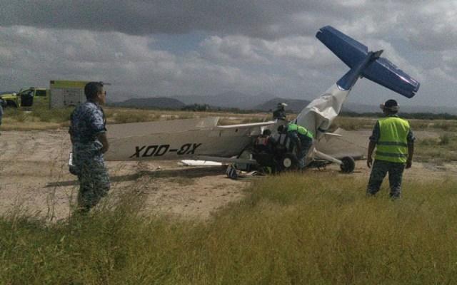 Se desploma avión pequeño cerca de Aeropuerto de La Paz - Se desploma avión pequeño cerca de Aeropuerto de La Paz
