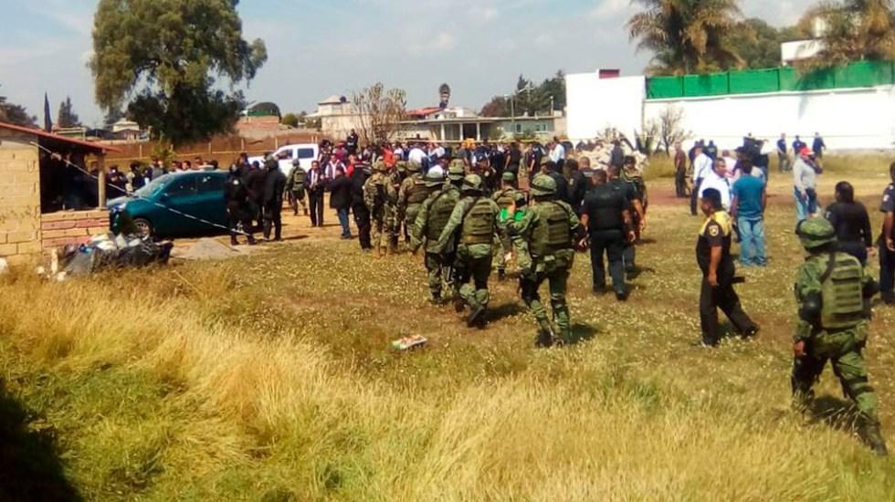 #Video Balacera deja cuatro muertos en Texcoco - Foto de @JesusLopez_08