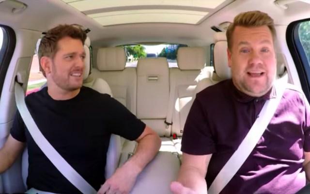 #Video Michael Bublé habla del cáncer de su hijo en Carpool Karaoke - Michael Bublé aparece en carpool karaoke