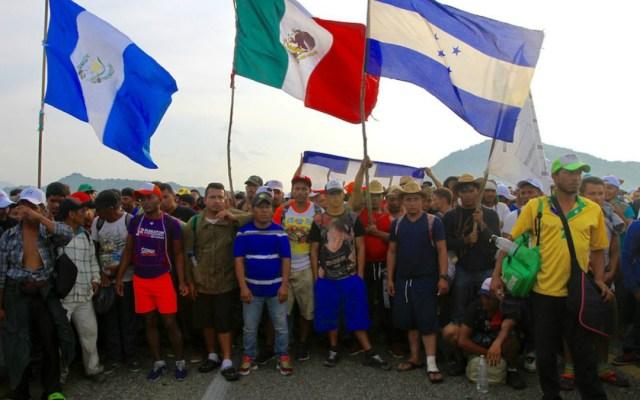 Alrededor de 400 miembros de caravana migrante regresarán a su país - 400 miembros de la caravana migrante decidieron regresar a su país