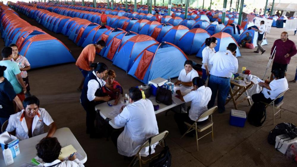 México ha recibido mil 699 solicitudes de refugio de migrantes - Regresan voluntariamente 110 migrantes hondureños: gobierno de México