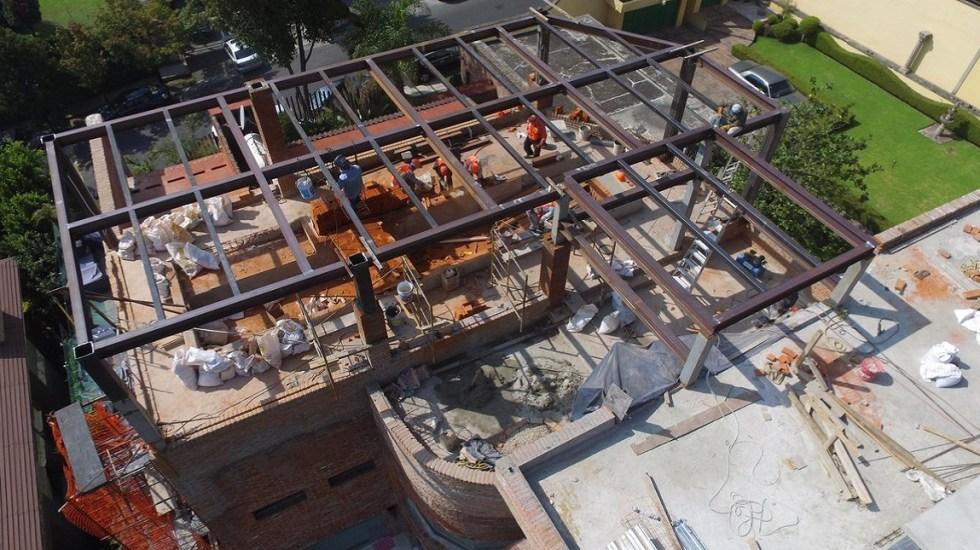 En Miguel Hidalgo también suspenden permisos a construcciones - Obra en la Miguel Hidalgo. Foto de @XochitlGalvez