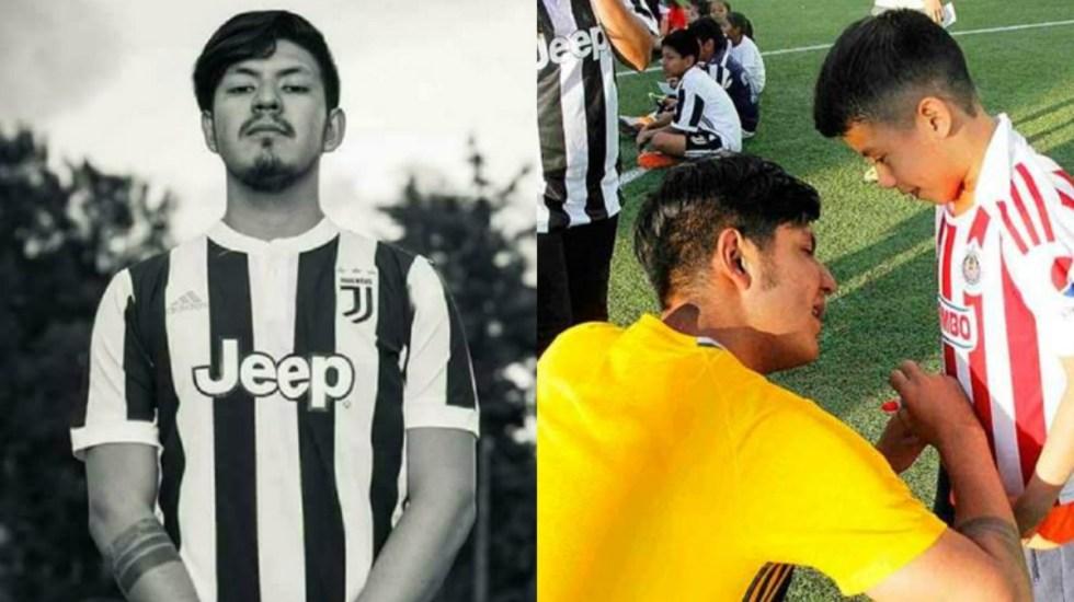 Joven mexicano se inventa vida como jugador de la Juventus - Dionicio Farid se inventó una vida como jugador de la Juventus