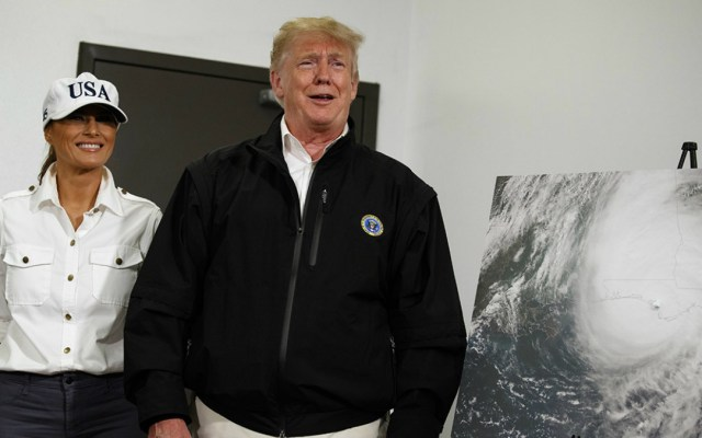 """""""Tengo un instinto natural para la ciencia"""": Trump - donald trump afirmó que tiene un instinto natural para la ciencia y el cambio climático"""