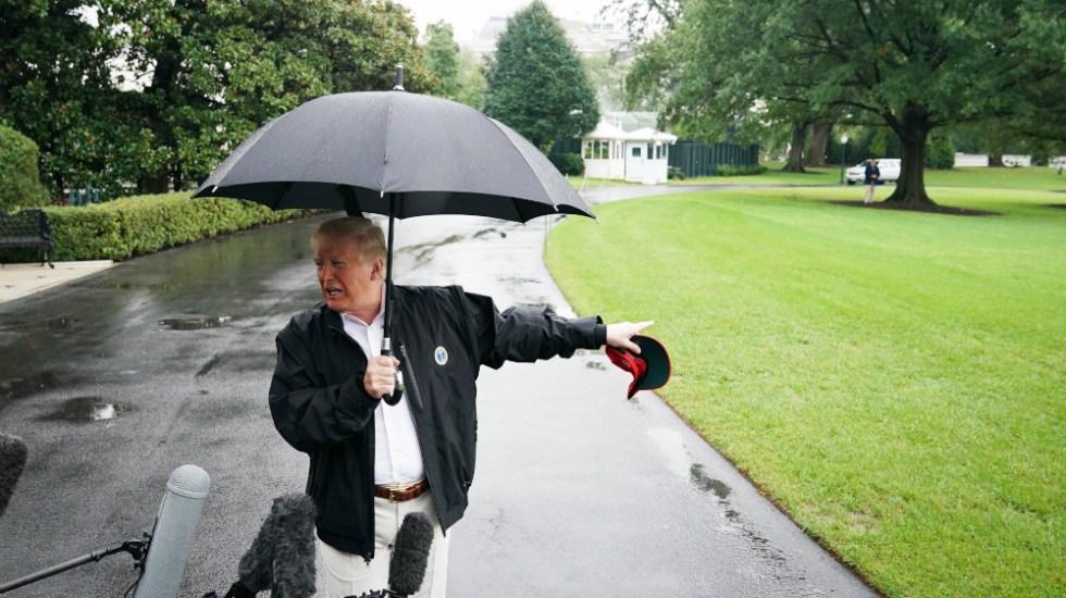 "Trump dijo estar ""muy, muy triste"" por bancarrota de Sears - Trump Sears"