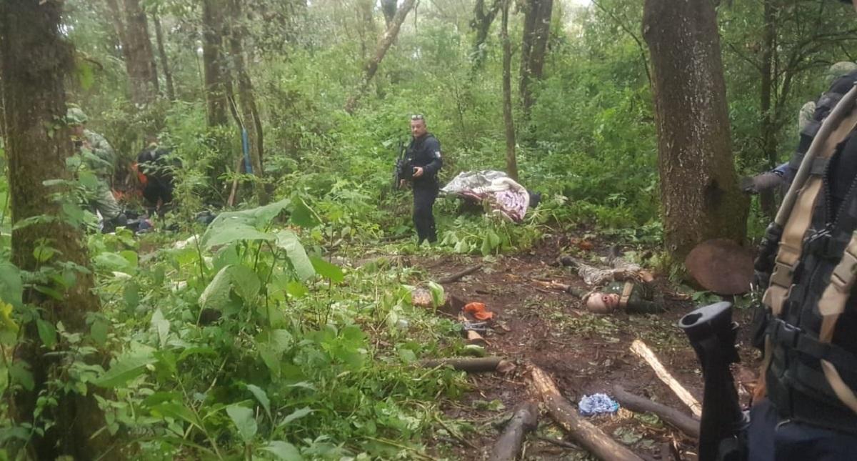 Cerro El Querendal, donde ocurrió enfrentamiento entre militares y civiles armados. Foto Especial