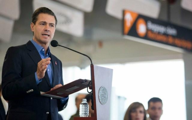 EPN destaca ventajas para campo mexicano con USMCA - EPN habla del USMCA