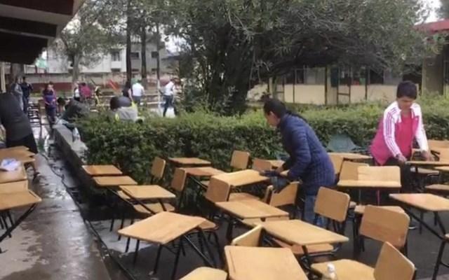 Suspenden clases en tres municipios de Michoacán por lluvias - Foto de Quadratín