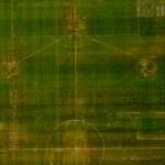 Difícil revertir el daño a la cancha del Estadio Azteca - Foto de Internet