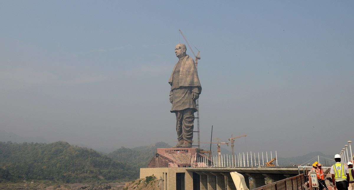 Termina la construcción de la estatua más grande del mundo