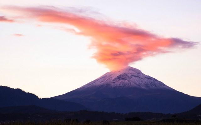 El Popocatépetl emite 121 exhalaciones en 24 horas - exhalaciones volcán popocatépetl