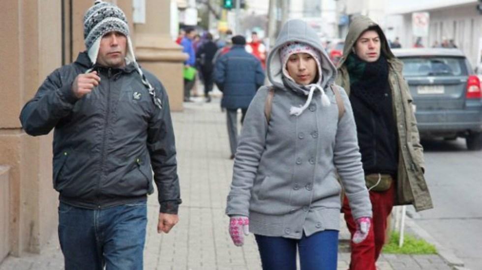 Alerta amarilla y naranja por frío en la Ciudad de México - El frente frío provocará descenso de temperaturas en el noroeste del país