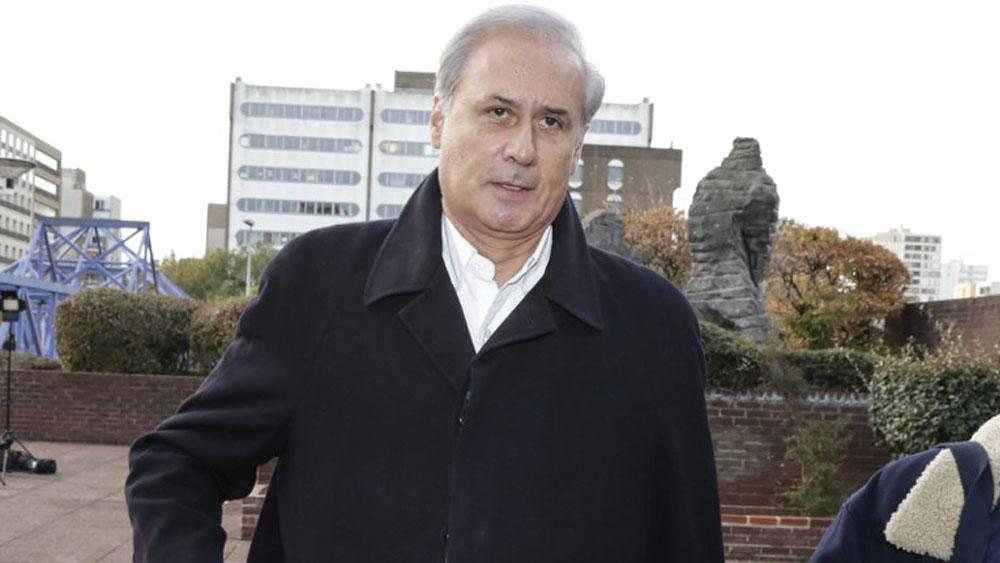 Exministro francés a juicio por violación y agresión sexual - Georges Tron. Foto de Thomas SAMSON / AFP