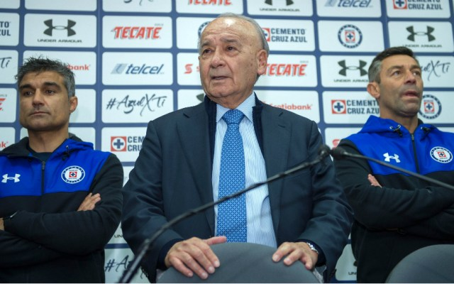 'Billy' Álvarez quiere al América como rival del Cruz Azul en la final - Billy Álvarez cruz azul