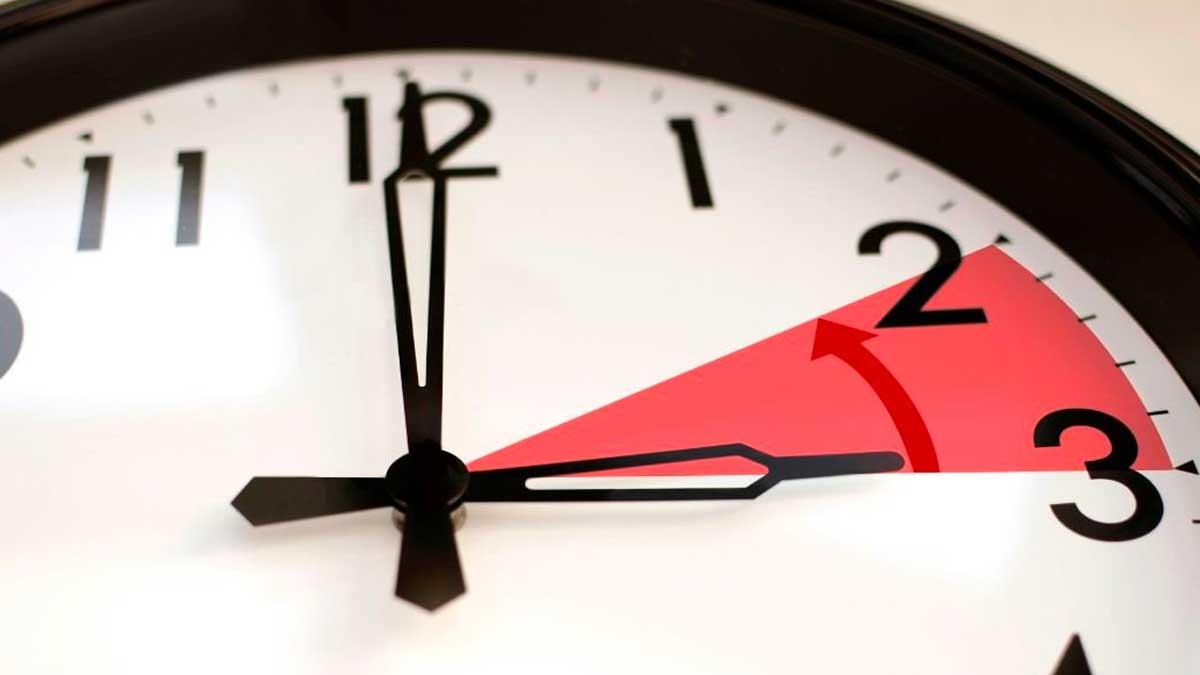 Horario de Verano llega a su fin el próximo domingo