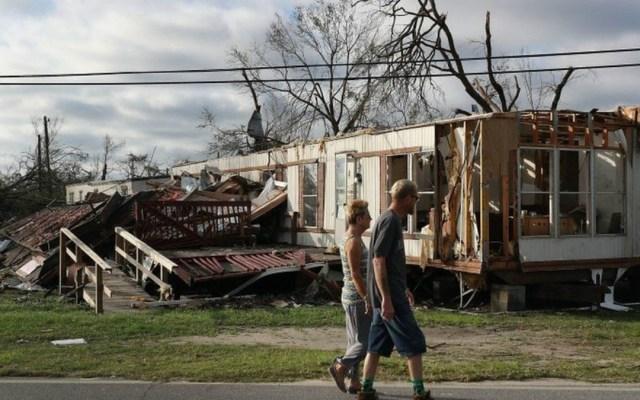 La destrucción del huracán Michael en Florida - Foto de Getty