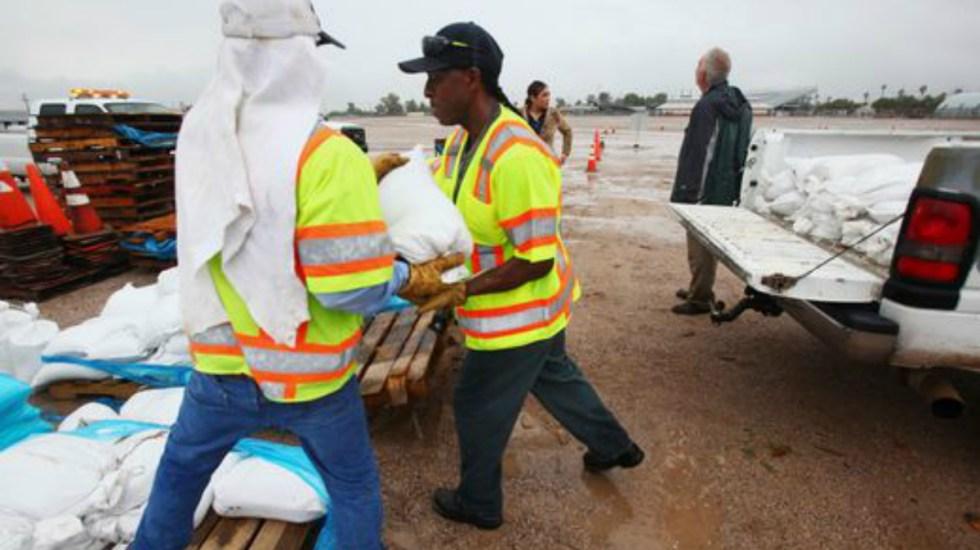 Remanentes de Rosa provocan inundaciones en Arizona - Foto de Rick Wiley, Arizona Daily Star via AP