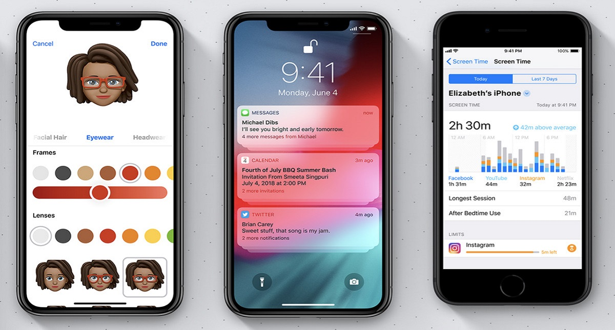 iOS 12 para Apple. Foto de Internet