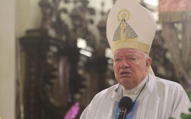 Arzobispo de Guadalajara condena tráileres con cuerpos pudriéndose - Arzobispo Juan Sandoval Íñiguez. Foto de @charobareno