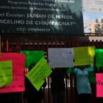 Detienen a presunto agresor de kínder en GAM - Foto de Cuartoscuro