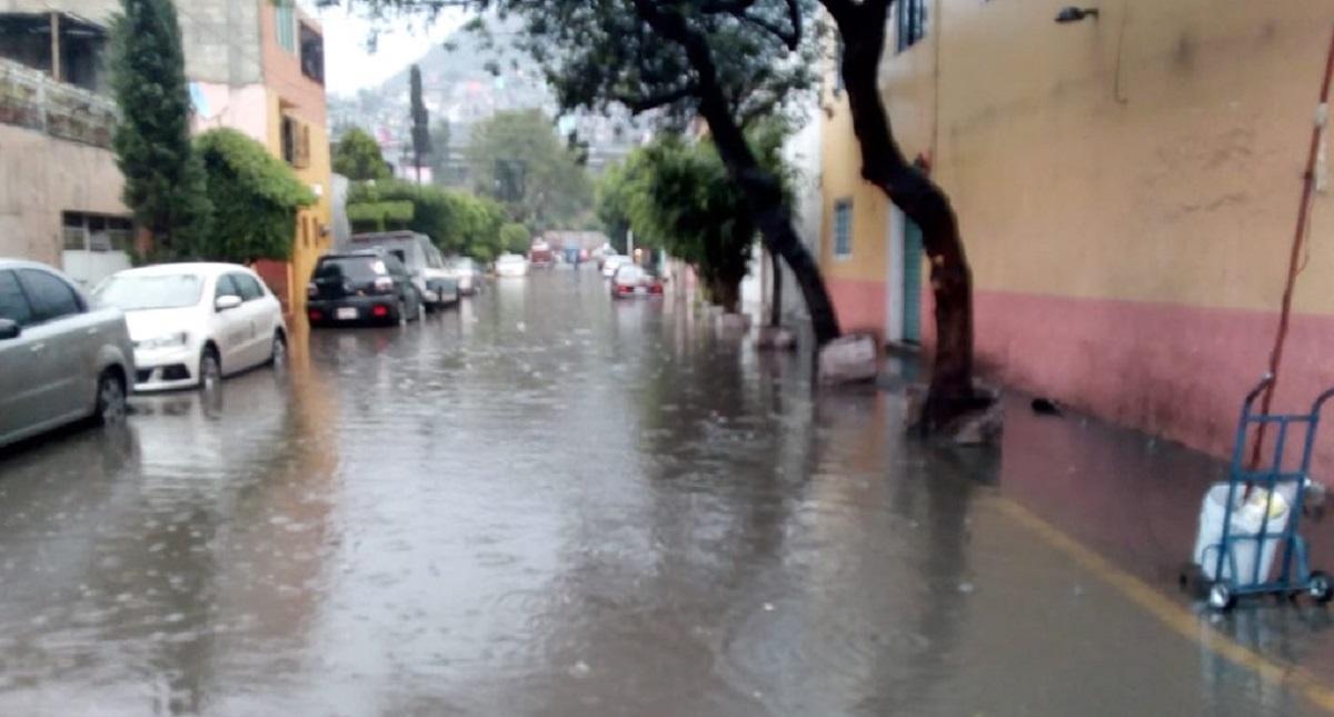 Inundaciones en la CDMX por lluvias. Foto de @FaustoLugo