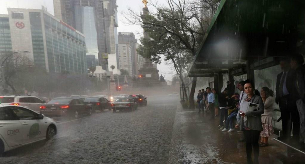 Lluvias y chubascos afectarán esta tarde la Ciudad de México - Foto de Internet