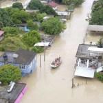 Nivel de ríos en Veracruz seguirá aumentando en las siguientes horas - Foto de @SEDENAmx
