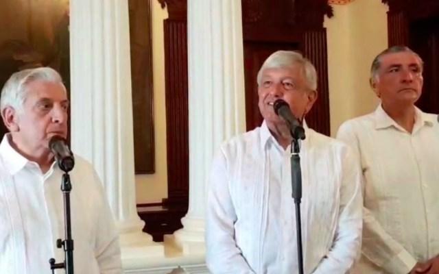 Se prohibirá por ley aumentar el costo de obras públicas: López Obrador - lope obrador dijo que se prohibirá por ley aumentar el costo de las obras públicas