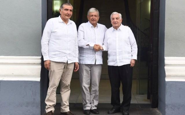 López Obrador se reúne con el gobernador de Tabasco - López Obradorse reúne este domingo con el gobernador de tabasco