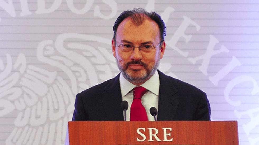 FGR no ha recibido rechazo a solicitud de orden de aprehensión contra Luis Videgaray - Luis Videgaray. Foto de Notimex