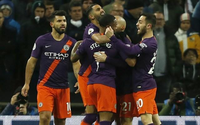 Manchester City derrota al Tottenham y arrebata el liderato al Liverpool - Foto de AFP