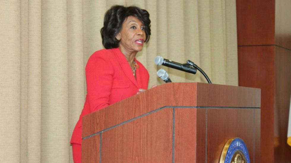 Dos paquetes sospechosos iban dirigidos a demócrata Maxine Waters - Foto de Maxine waters