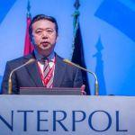 """Esposa del exjefe de Interpol denuncia """"persecución"""" de régimen chino - Meng Hongwei. Captura a partir de EPA."""