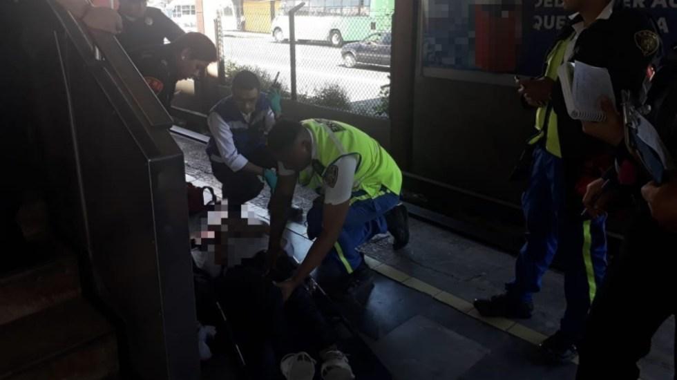 Convoy del Metro arrastra a una mujer en estación Portales - Foto de @SSP_CDMX
