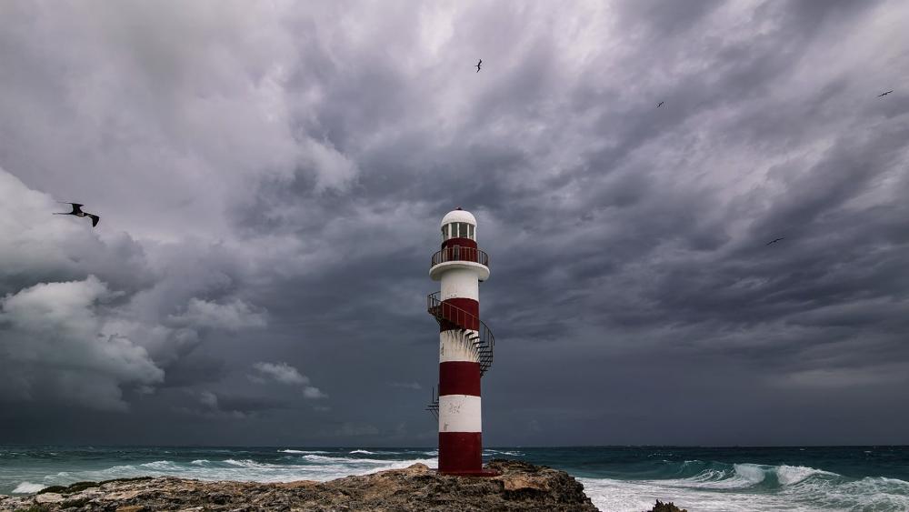 Saldo blanco en Cancún tras paso de tormenta tropical 'Michael' - Foto de @Robert_Fedez