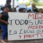 Migrantes en México esperan arribo de centroamericanos a Chiapas - Foto de Quadratín