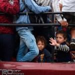Migrantes se reagrupan en frontera de Guatemala con México