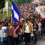 Regresan mil 279 migrantes a Honduras tras caravana - Foto de ORLANDO ESTRADA / AFP